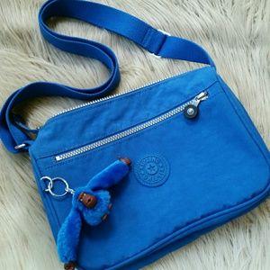 💕 Kipling Blue Crossbody Bag
